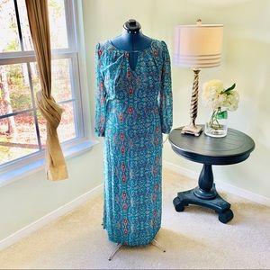 Speechless Multicolor Maxi Dress Size 1X